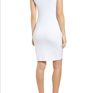 Leith Dresses - Leith Ruched Body-Con Tank Dress